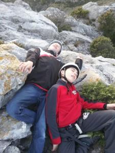 Herzog et Lachenal au sommet
